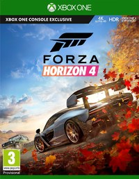 Forza Horizon 4 (Xbox One) - Cover