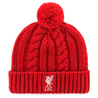 Liverpool - Club Crest Cable Knitted Hat - Cover