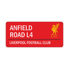 Liverpool - Club Crest & Logo Colour Street Sign Cover