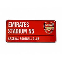 Arsenal - Club Crest & Logo (Colour Street Sign) - Cover