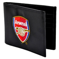 Arsenal - Club Crest Embroidered PU Leather Wallet (PU Leather Wallet) - Cover