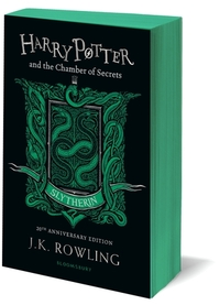 Harry Potter and the Chamber of Secrets - Slytherin Edition - J.K. Rowling (Paperback) - Cover
