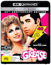 Grease (Blu-ray) - Cover