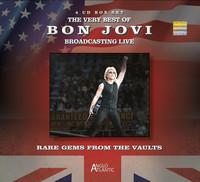 Bon Jovi - Rare Gems From the Vaults -Bon Jovi Broadcasting (CD) - Cover