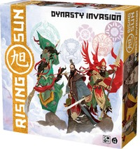 Rising Sun - Dynasty Invasion Expansion (Board Game) - Cover