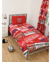 Arsenal - Club Crest Patch Single Duvet Set (Single) Cover
