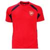 Arsenal Red Panel Mens T-Shirt (Large)