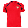Arsenal Red Panel Mens T-Shirt (Small)