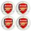 Arsenal - Club Crest Round Glass Coasters (4PK)