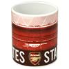 Arsenal - Club Crest Stadium (Ceramic Boxed Mug)