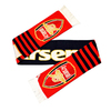 Arsenal - Club Crest Stripe Scarf
