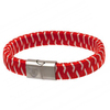 Arsenal - Club Cres & Colours Woven Bracelet