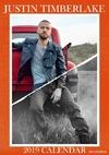Justin Timberlake - 2019 Calendar Unofficial