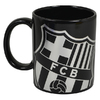 Barcelona - Club Crest Black React (Ceramic Boxed Mug)