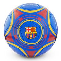"Barcelona - Club Crest & text ""FC BARCELONA"" Blue Star Football (Size 5) - Cover"