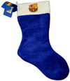 Barcelona - Christmas Crest Stocking