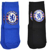 Chelsea - Blue And Black Socks (12.5-3.5) (Pack of 2) - Cover