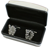Chelsea - Chrome Cufflinks