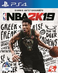 NBA 2K19 (PS4) - Cover