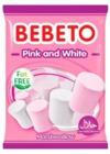Bebeto - Marshmallows - Pink & White (80g)