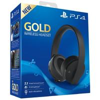 Sony PlayStation Gold 7.1 Wireless Headset - Black (PS4/PC/Mac/PSVR)