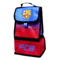 """Barcelona - Club Crest & Text """"FCB""""  In The Fade Design (Lunch Bag) - Cover"""