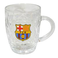Barcelona - Club Crest Glass Tankard - Cover