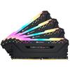 Corsair Vengeance RGB Pro - Black heatsink 32GB (8GB x 4 kit) DDR4-3200 CL16 1.35v - 288pin Memory Module (Dynamic Multi-Zone RGB with 10 LEDs per module)