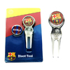 Barcelona - Club Crest Golf Divot Tool and Ball Markers