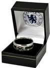 Chelsea - Black Inlay Ring - Small