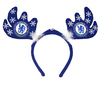 Chelsea - Flashing Christmas Antlers Headband Cover