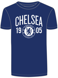 Chelsea - Mens Navy T-Shirt (Small) - Cover