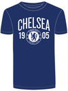 Chelsea - Mens Navy T-Shirt (XX-Large)