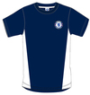 Chelsea - Navy Crest Mens T-Shirt (X-Large)
