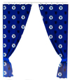 Chelsea - Repeat Crest Curtains - 72 Inch Cover