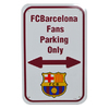 Barcelona - Club Crest No Parking Sign