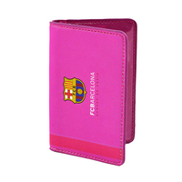 Barcelona - Club Crest Pink Wallet (Small) - Cover