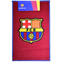 Barcelona - Printed Club Crest Rug - Cover