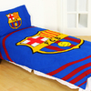 Barcelona - Club Crest Reversible Pulse Duvet Set (Single)