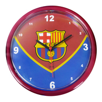 Barcelona - Club Crest Swoop Wall Clock - Cover
