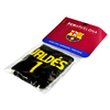 "Barcelona - Club Logo & Text ""VALDES 1"" Player Wristband"