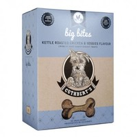 Cuthberts - Kettle Roasted Chicken and Veggies Flavour Large Bites Dog Biscuits (1kg) - Cover