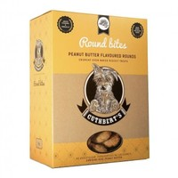 Cuthberts - Peanut Butter Flavour Round Large Bites Dog Biscuits (1kg) - Cover