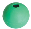 MCP - 50mm Rubber Ball Dog Toy with Bell (Green)