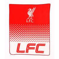 Liverpool - Club Crest Fade Design Fleece Blanket - Cover