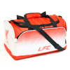 Liverpool - Text LFC & Liverbird Crest Fade Design Holdall Bag