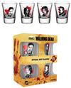 The Walking Dead - Shot Glasses (Pack of 4)