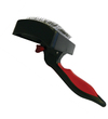 MCP - Small Self Cleaning Retractable Slicker Cat Brush (Black and Red)