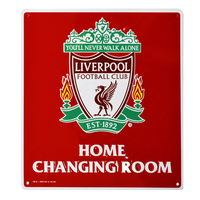 Liverpool - Liverpool Home Changing Room Sign - Cover