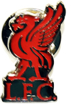 Liverpool - Liverbird Crest Pin Badge - Cover